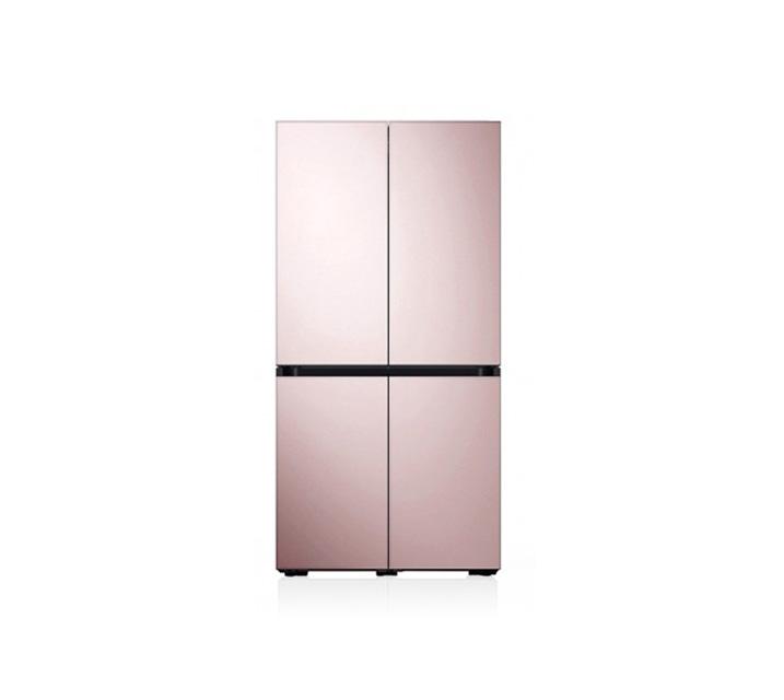 [L] 삼성 비스포크 양문형 냉장고 4도어 글램핑크 871L RF85T901332 / 월 58,700원