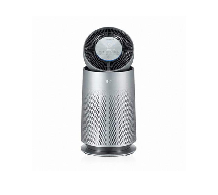 [L] LG전자 퓨리케어 360도 펫 공기청정기 19평형 실버 AS191DNPA  / 월28,900원