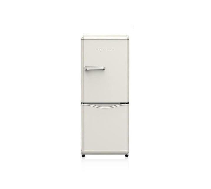 [S] 위니아대우 더클래식 레트로 냉장고 베이지 150L WKRS154CCE / 월 15,500원