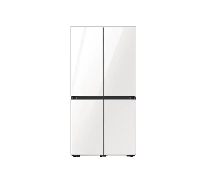 [L] 삼성 냉장고 4도어 비스포크 양문형 871L 글램화이트 RF85T901335 / 월 64,900원