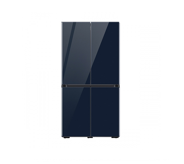 [L] 삼성 냉장고 4도어 비스포크 양문형 871L 글램네이비 RF85T901341 / 월 58,700원