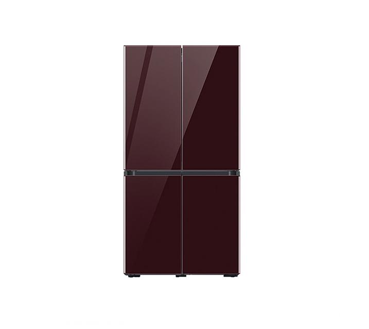 [L] 삼성 냉장고 4도어 비스포크 양문형 871L 글램버건디 RF85T901343 / 월 64,900원