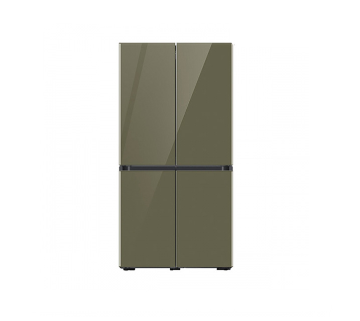 [L] 삼성 냉장고 4도어 비스포크 양문형 871L 글램올리브 RF85T901344 / 월 64,900원