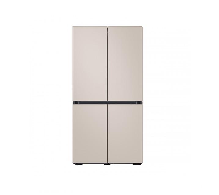[L] 삼성 냉장고 4도어 비스포크 양문형 871L 새틴베이지 RF85T901339 / 월 64,900원