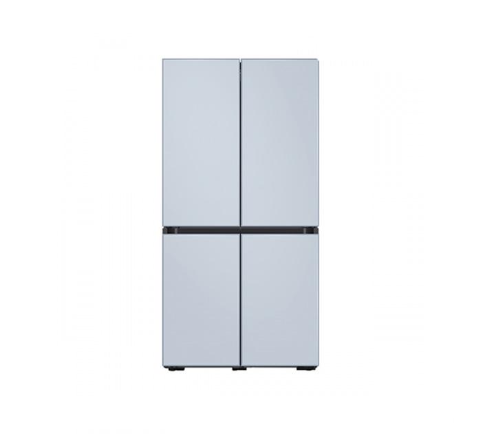 [L] 삼성 냉장고 4도어 비스포크 양문형 871L 새틴스카이블루 RF85T901348 / 월 64,900원