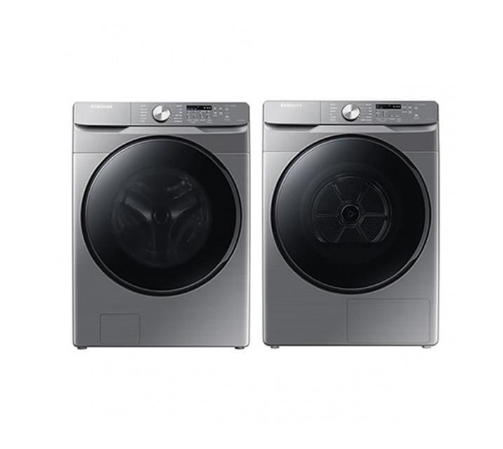 [L] 삼성 그랑데 드럼 세탁기 21kg+ 건조기 16kg 세트 WF21T6000KP(P) / 월78,000원