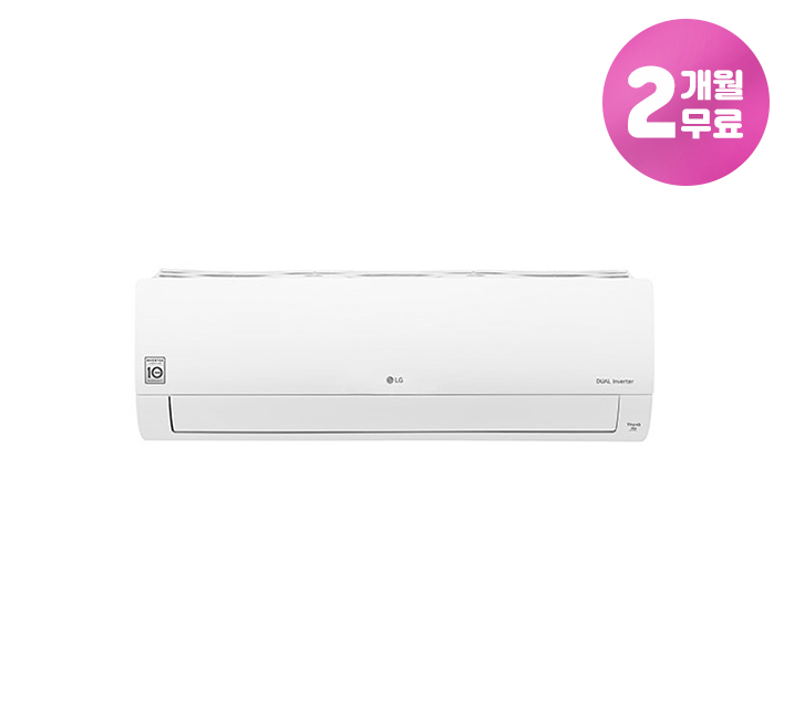 [L] LG 휘센 냉난방 벽걸이 에어컨 9평형 SQ09BAJWAS / 월22,900원