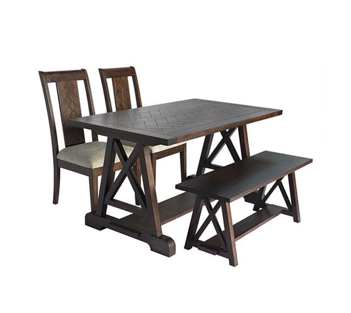 IHOL 할지보든 컬렉션 4인 엔틱 식탁 세트 [ 테이블 + 의자 4개 ] / 월 93,800원