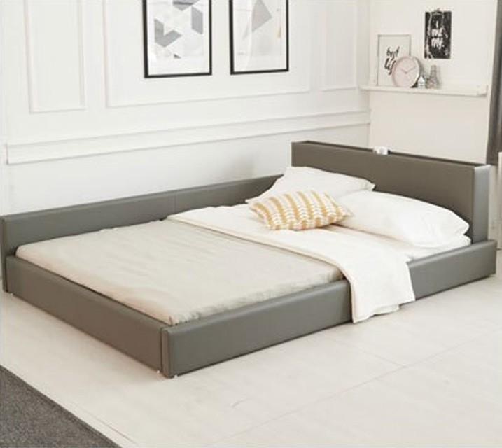 데이지 패밀리 침대 [그레이] Q+PVC 깔판 / 월 33,800원
