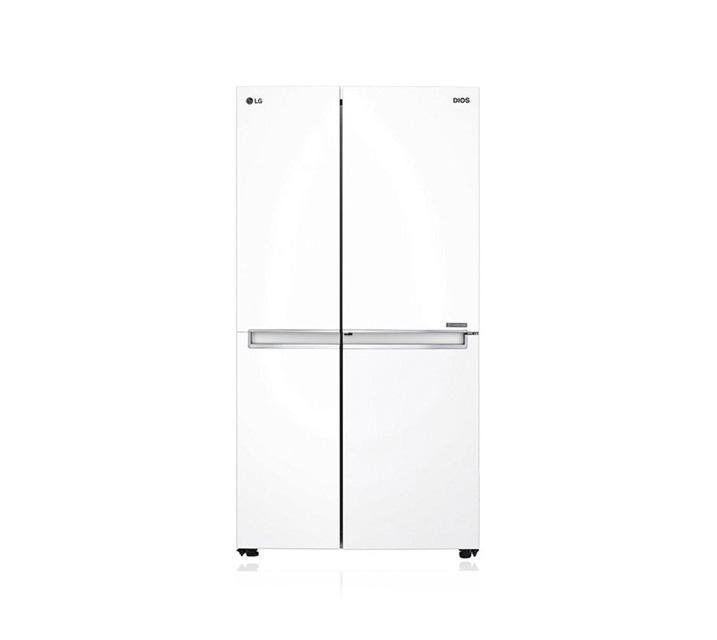 [L] LG 양문형 2도어 냉장고 821L 화이트 S833W32 / 월 44,000원