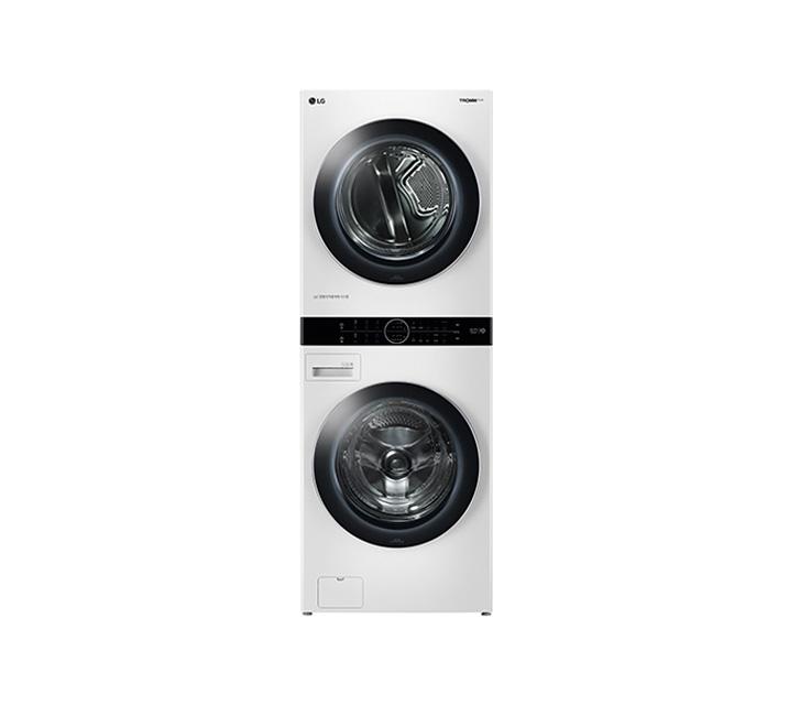 [L] LG 워시타워 세탁기(21kg)+건조기(16kg) 화이트 W16WT / 월99,900원