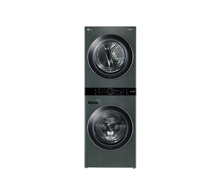 [L] LG 워시타워 세탁기(21kg)+건조기(16kg) 그린 W16GT / 월109,000원