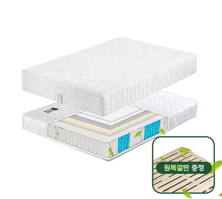 ★소나무 원목깔판 증정★ 라텍스 7존 포켓 매트리스 Q / 월 13,800원