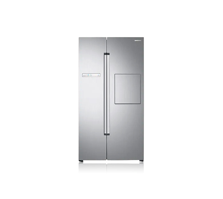 [S] 삼성 양문형냉장고 프리스탠딩 815L 실버 리얼메탈 RS82M6000S8 / 월 27,500원