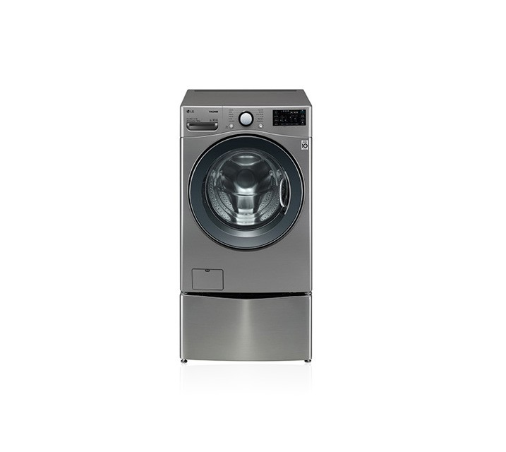 [S] LG 트롬 트윈워시 세탁기 18kg 모던 스테인리스 F18VDPM / 월49,500원