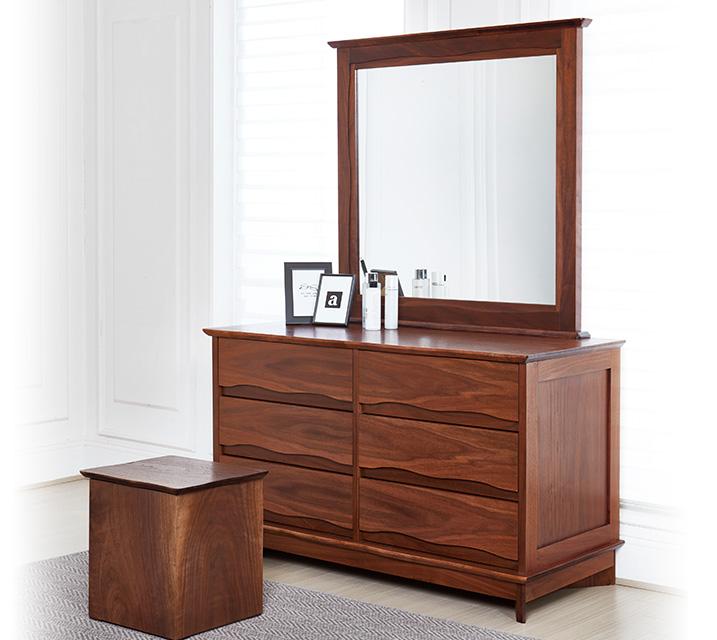 버플 와이드 체스트[거울/의자 미포함] / 월77,800원