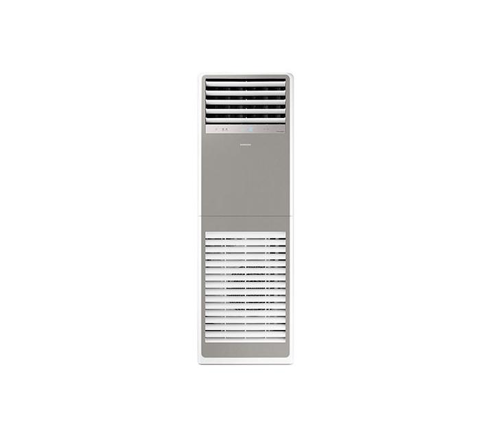 [S] 삼성 비스포크 스탠드형 인버터 중대형 냉난방기 40평형 그레이 380V AP145TSPPHH6S / 월91,000원