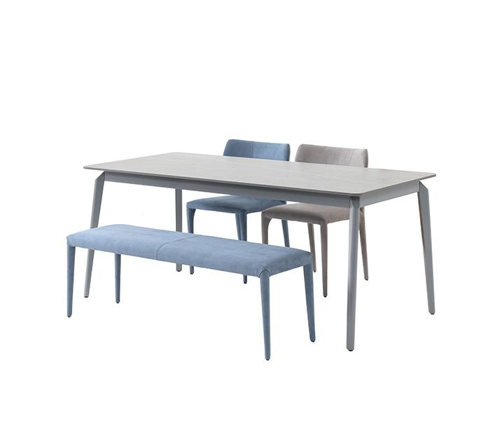 [L] 카일로 세라믹 4인 식탁세트 (의자2ea, 벤치1ea) / 월 61,800원