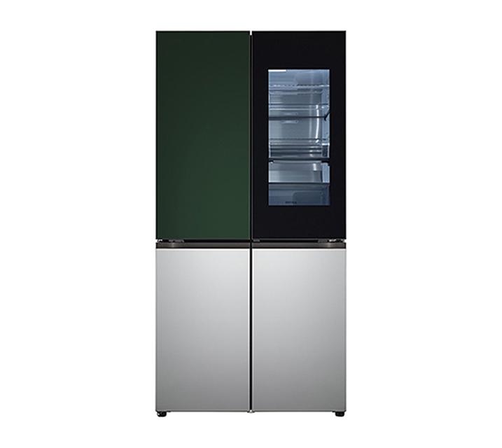 [S] LG 오브제컬렉션 노크온 매직스페이스 냉장고 870L 그린실버 M870SGS451 / 월 129,000원