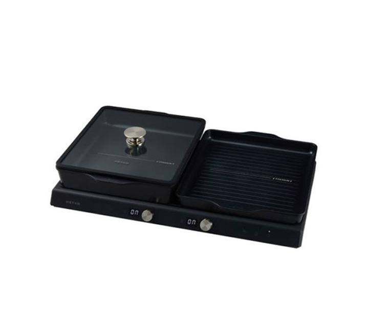 [L] 해피콜 전기그릴 2인용 블랙 MDER-U02IHA1BK / 월17,000원