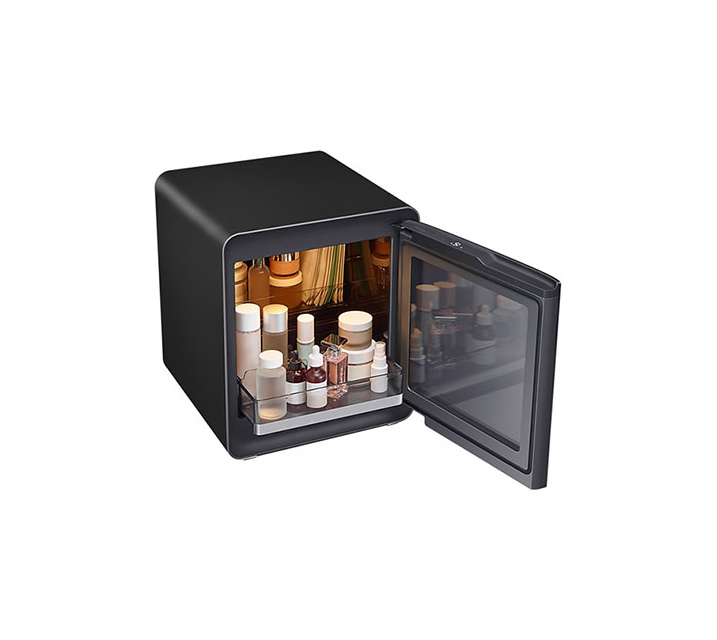 [S] 삼성 비스포크 큐브냉장고 25L+뷰티&헬스 수납존 차콜 CRS25T950005C / 월16,500원