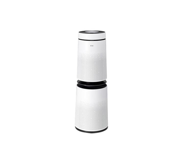 [L] LG전자 퓨리케어 360도 공기청정기 30평형 화이트 크리미도우 AS301DWFA  / 월30,900원