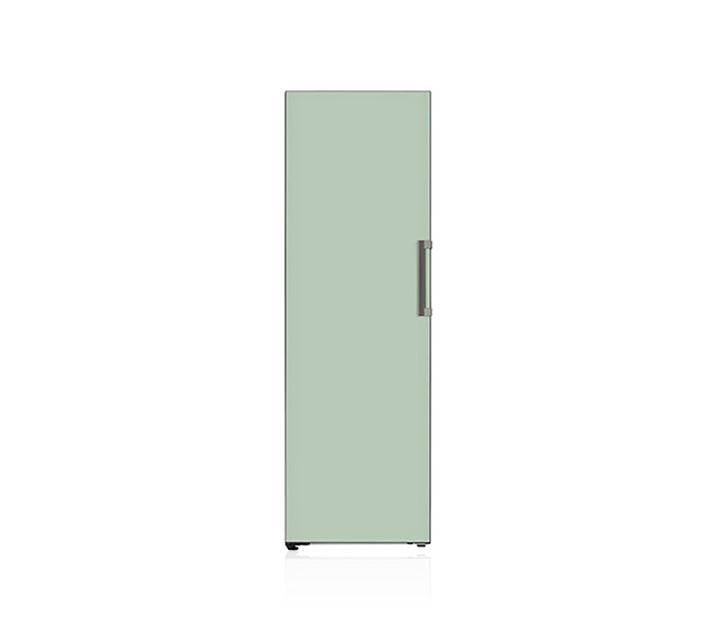 [S] LG 오브제컬렉션 컨버터블 냉동전용고 321L 민트 Y320GM / 월44,500원