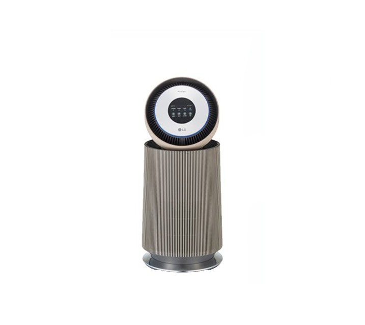 [L] LG 퓨리케어 360 공기청정기 알파 20평형 밀크티라떼 AS201NBFA  / 월 39,400원